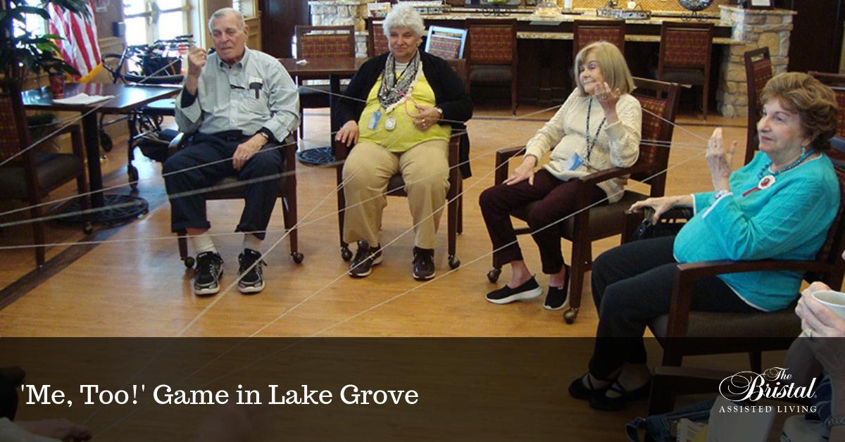 'Me, Too!' Game in Lake Grove