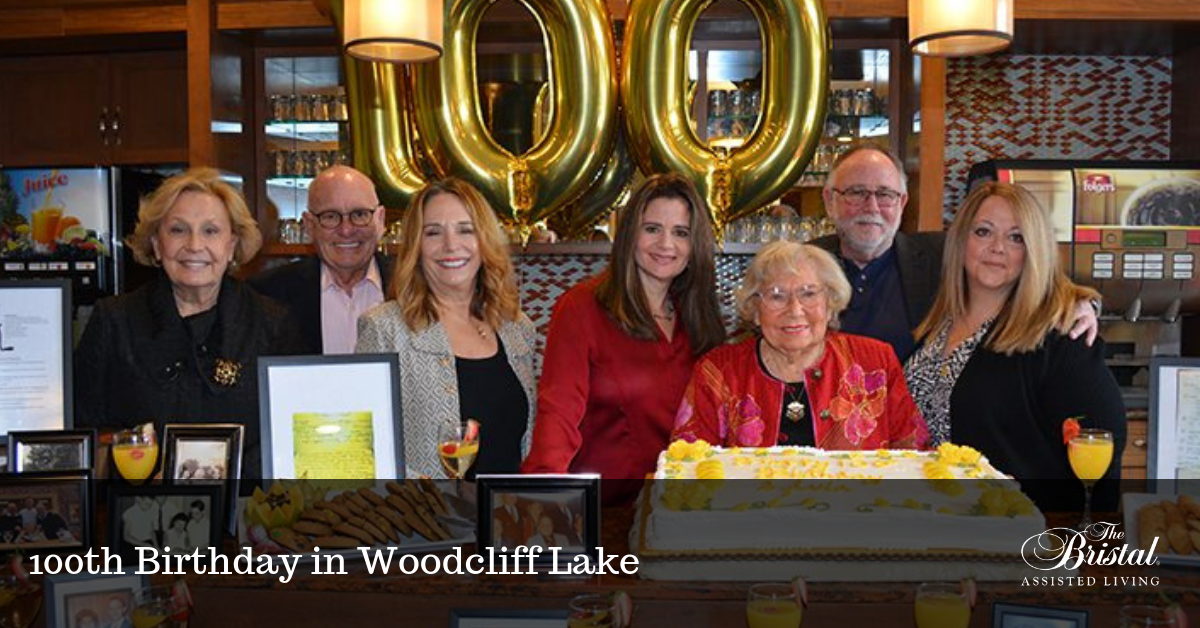 100th Birthday in Woodcliff Lake