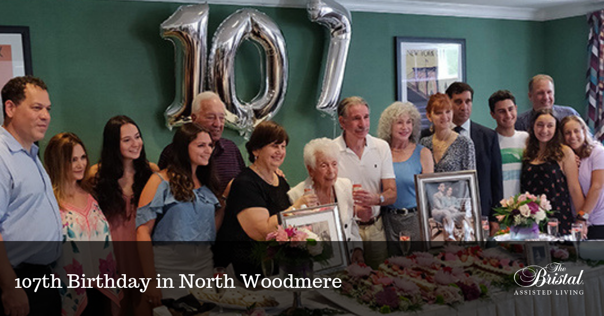 107th Birthday in North Woodmere