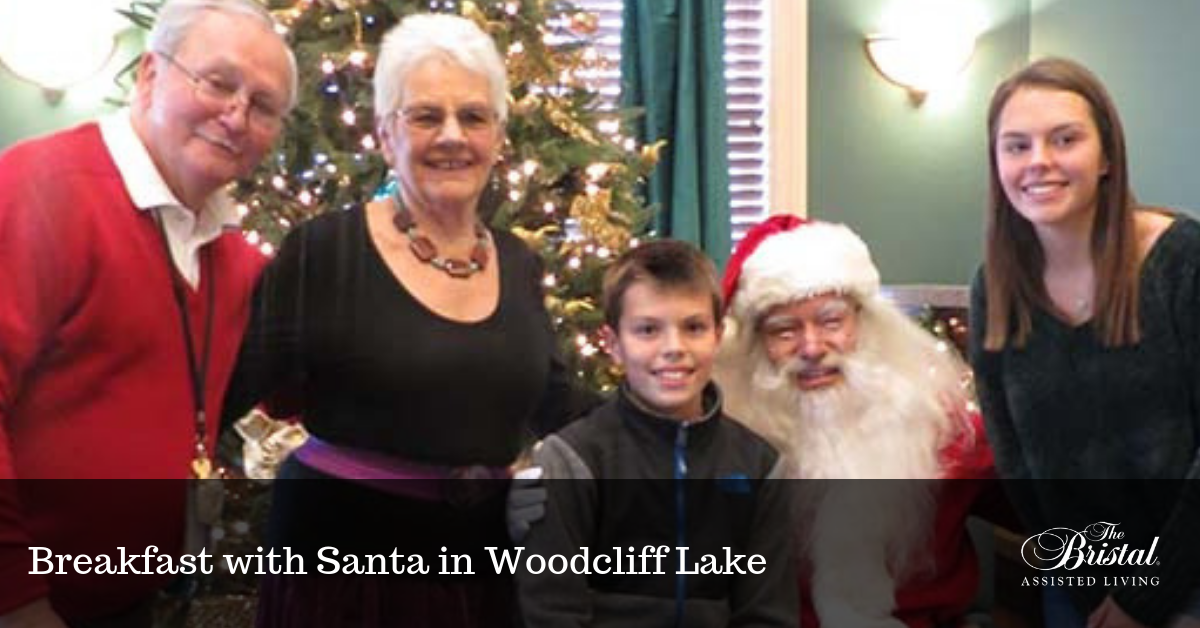 Breakfast with Santa in Woodcliff Lake