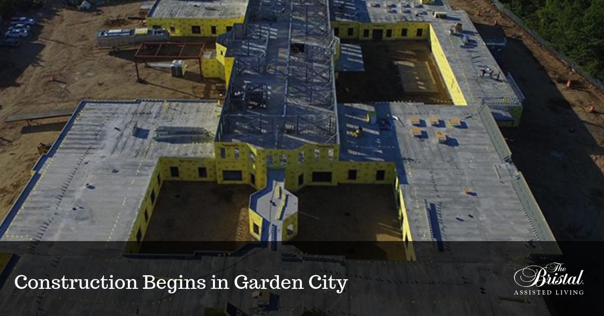 Construction Begins in Garden City