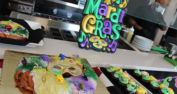 Mardi Gras Celebration in Englewood