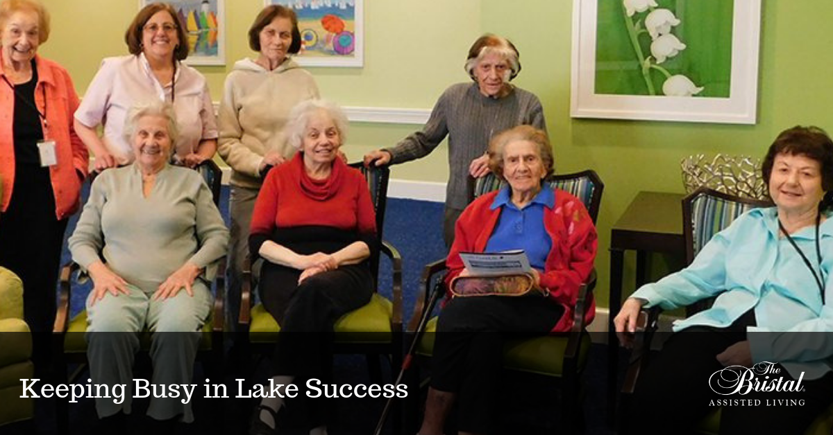 Keeping Busy in Lake Success
