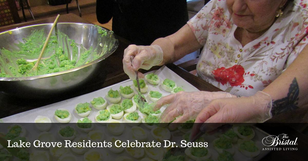 Lake Grove Residents Celebrate Dr. Seuss