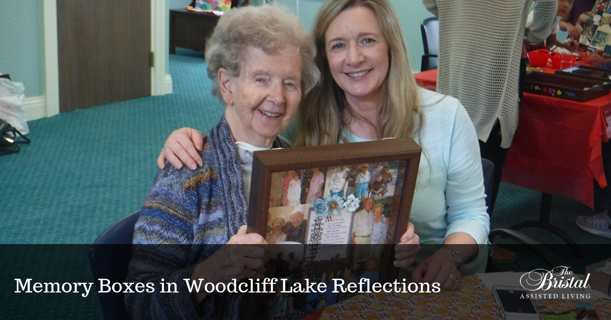 Memory Boxes in Woodcliff Lake Reflections