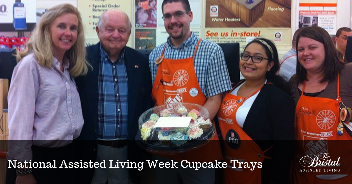 National Assisted Living Week Cupcake Trays