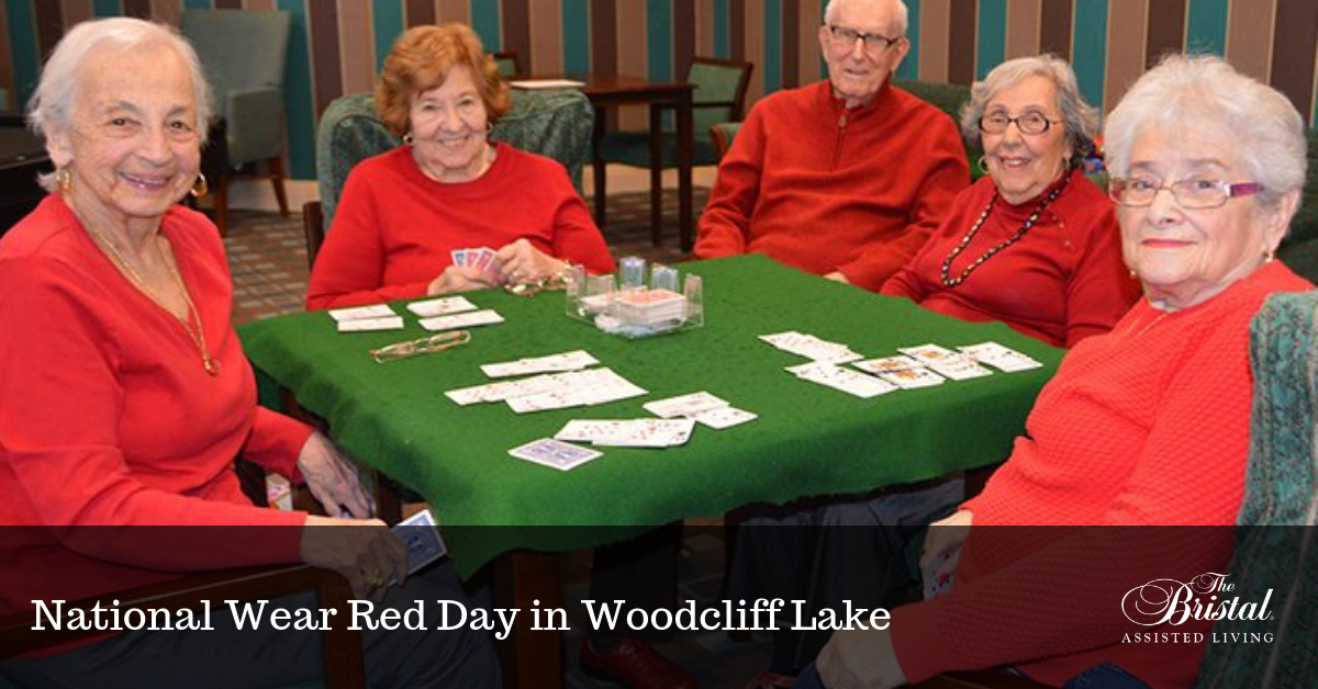 National Wear Red Day in Woodcliff Lake