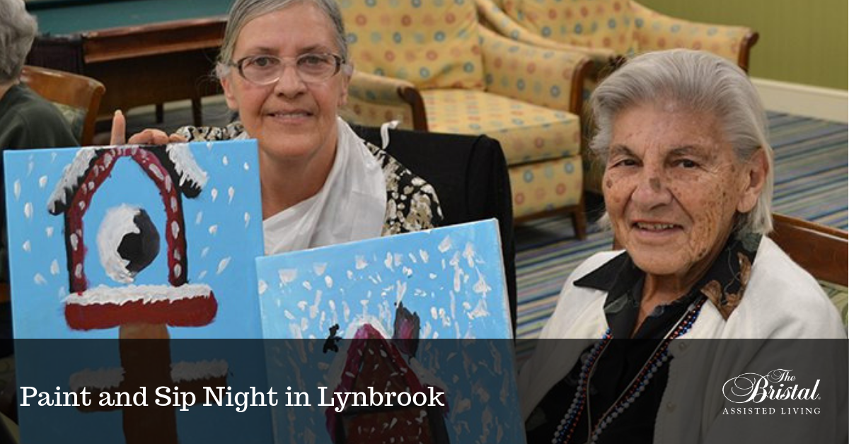 Paint and Sip Night in Lynbrook