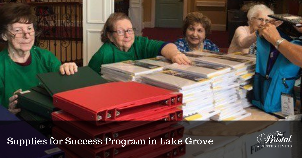 Supplies for Success Program in Lake Grove