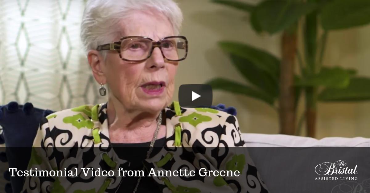 Testimonial Video from Annette Greene