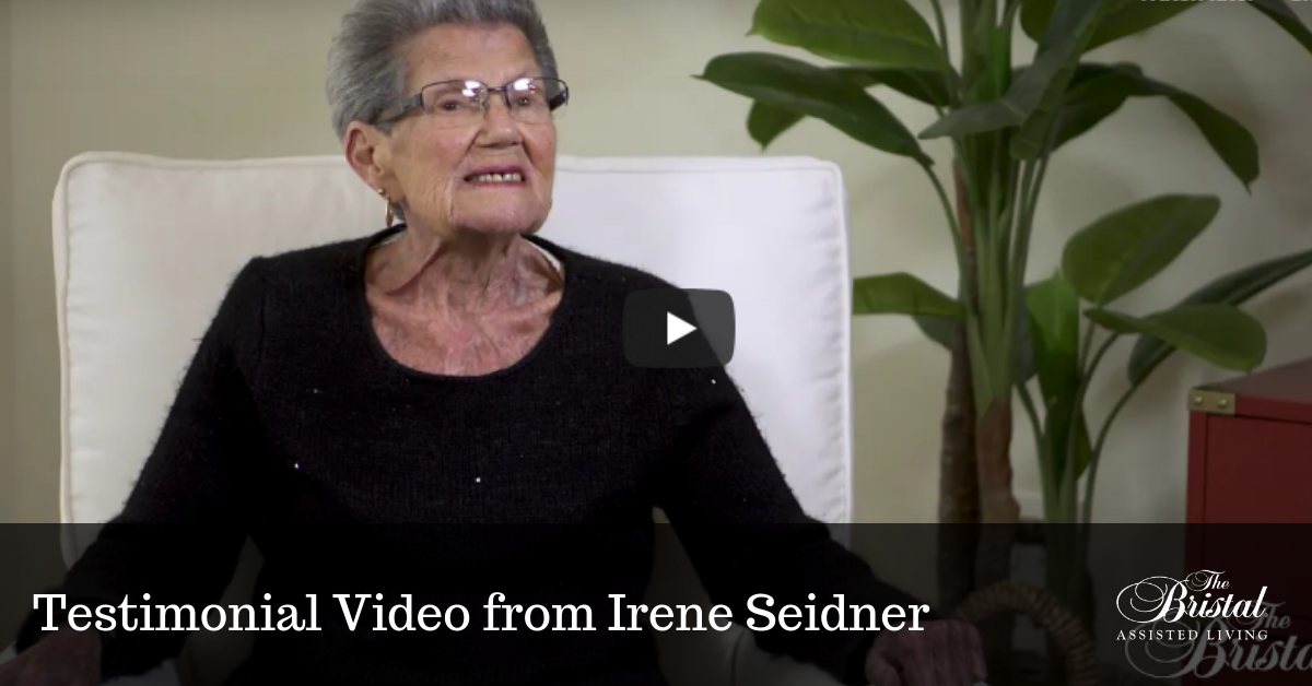 Testimonial Video from Irene Seidner at The Bristal