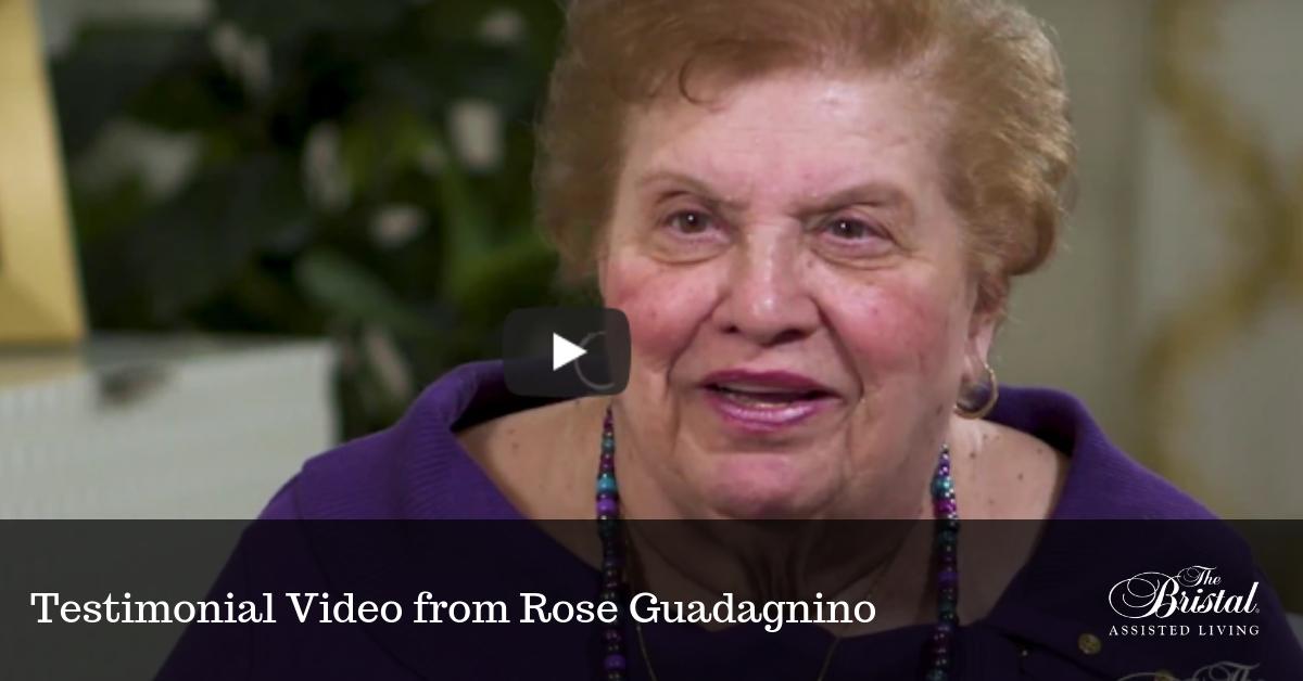 Testimonial Video from Rose Guadagnino