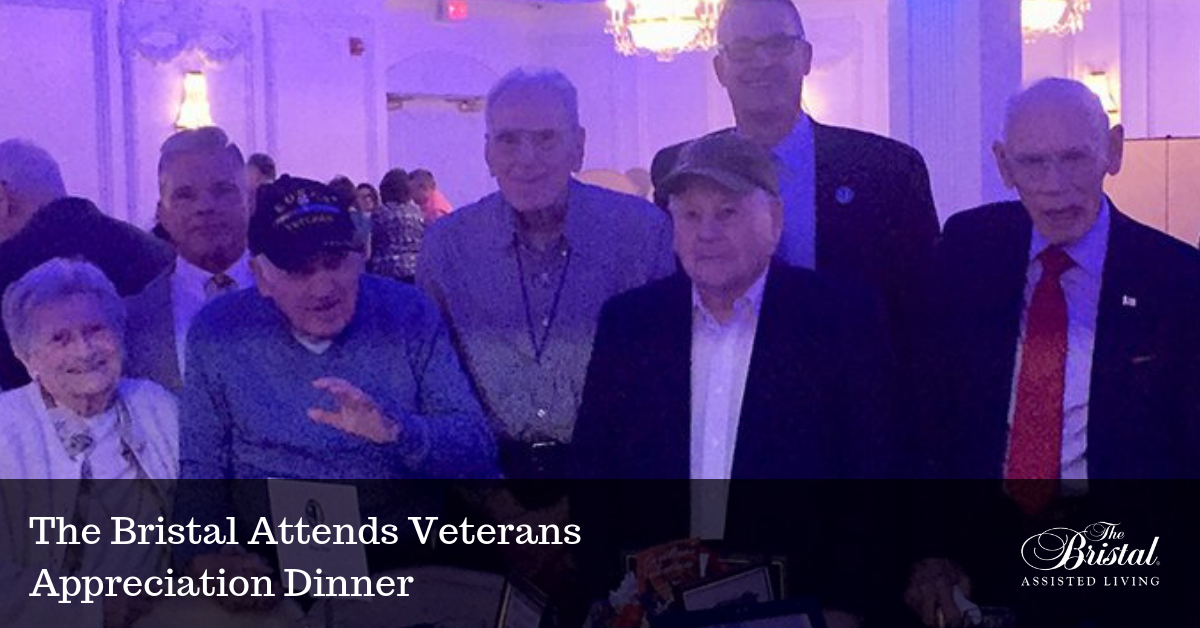 The Bristal Attends Veteran Appreciation Dinner blog header