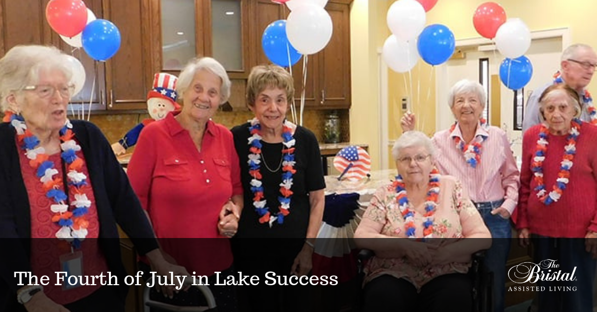 The Fourth of July in Lake Success