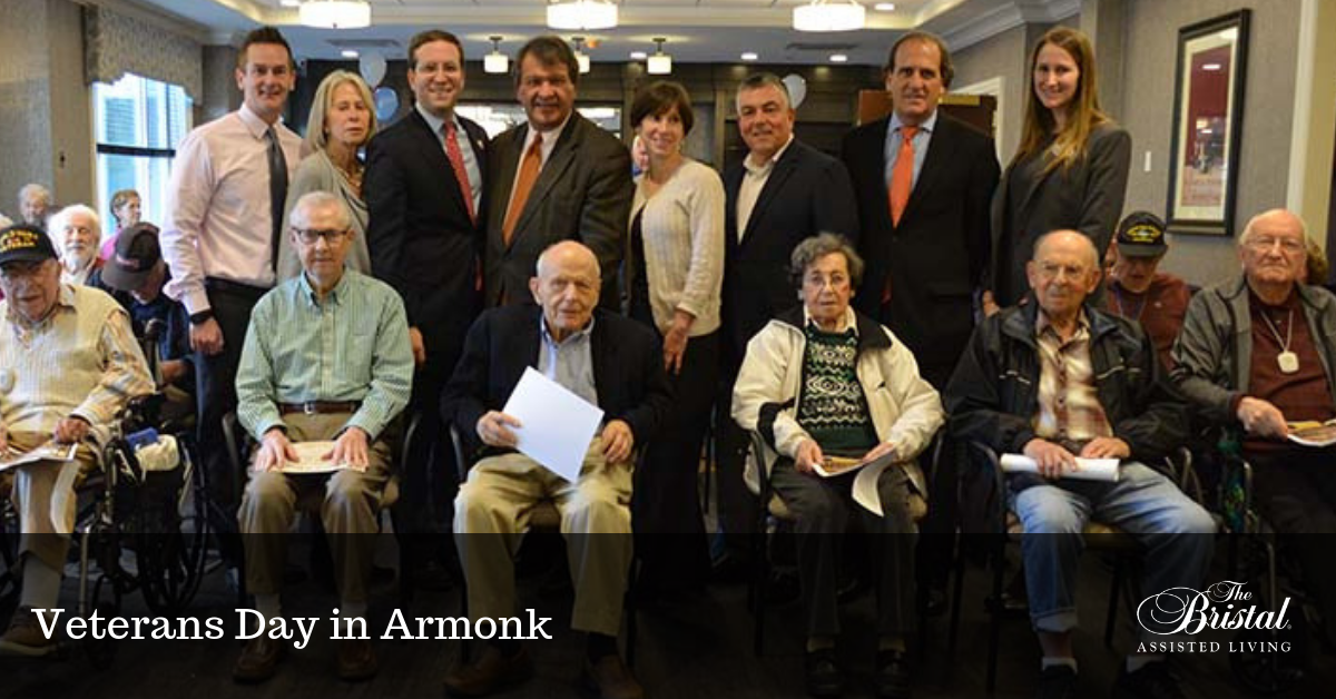 Veterans Day in Armonk