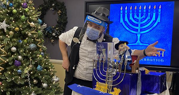 Hanukkah Fun in East Northport
