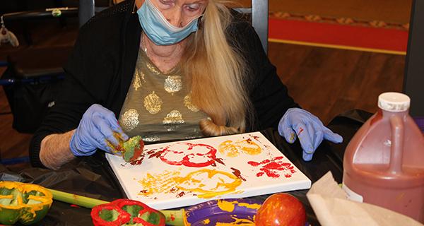 Sukkot Art in Holtsville