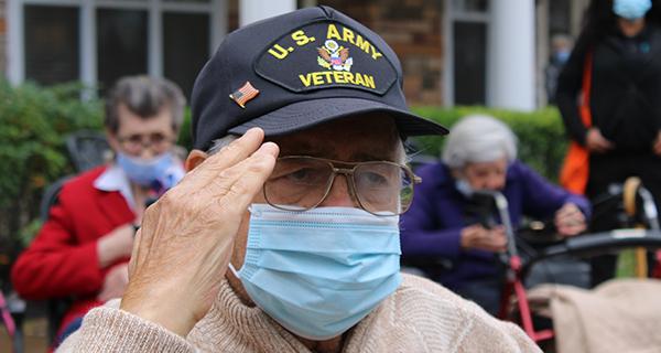 Veterans Day at Lake Grove