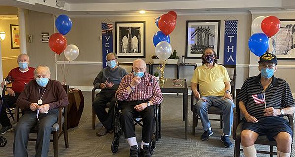 Veterans Day in Westbury