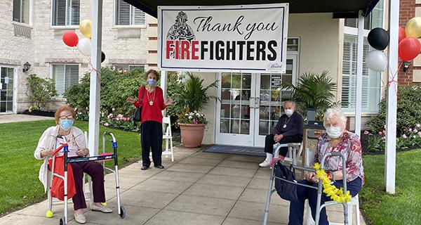 International Firefighters' Day in Westbury