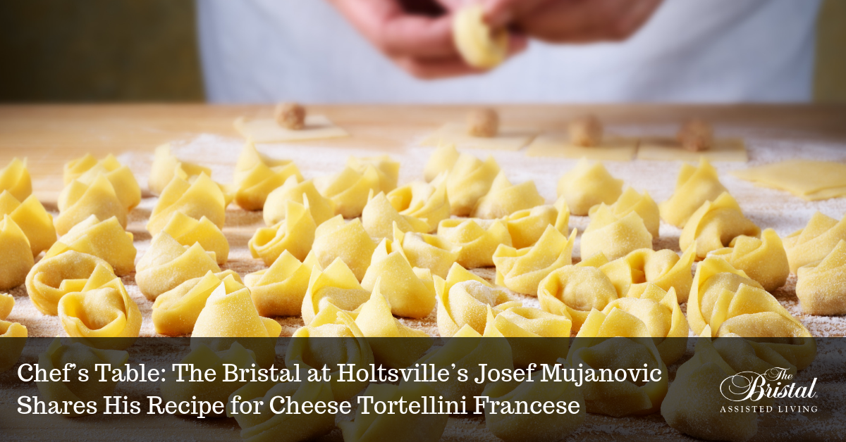 the bristal at holtsville cheese tortellini